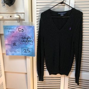 Black Ralph Lauren Sweater
